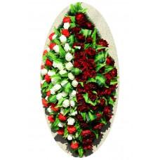 Венок из искусственных цветов №4050