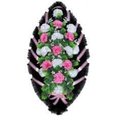 Венок из искусственных цветов №4051