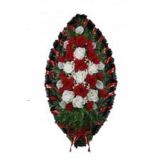 Венок из искусственных цветов №4211