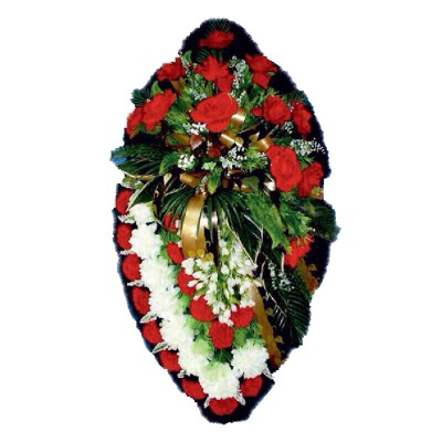 Венок из искусственных цветов №4219