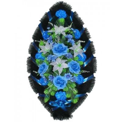 Венок из искусственных цветов №4002
