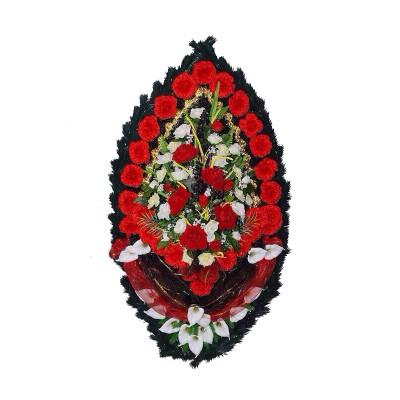 Венок из искусственных цветов №4220