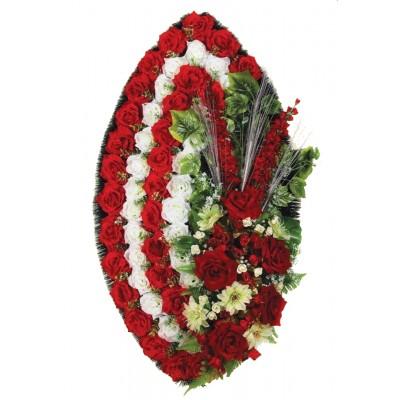 Венок из искусственных цветов №4226