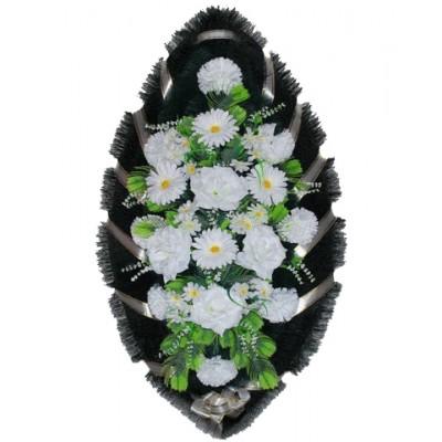 Венок из искусственных цветов №4004