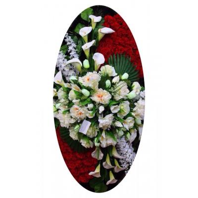 Венок из искусственных цветов №4022