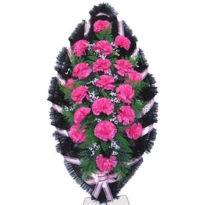 Венок из искусственных цветов №4006