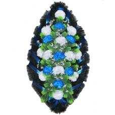 Венок из искусственных цветов №4208