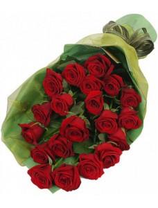 Букет из 30 красных роз №7519